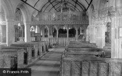 Mullion, Church Interior 1931