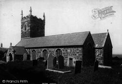 Mullion, Church Of St Mellanus 1895