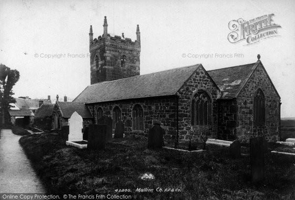 Photo of Mullion, Church Of St Mellanus 1899