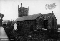 Mullion, Church Of St Mellanus 1899