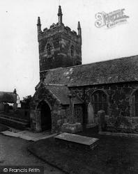 Mullion, Church Of St Mellanus 1927