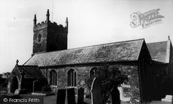 Mullion, Church Of St Mellanus c.1960