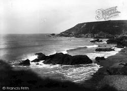 Mullion, Coast c.1955