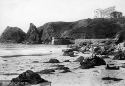 Mullion, Cove And Hotel 1899