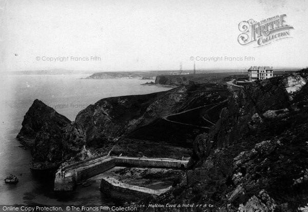 Photo of Mullion, Cove And Hotel 1903