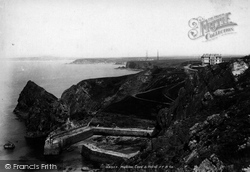 Mullion, Cove And Hotel 1903