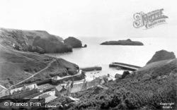 Mullion, Cove And Island 1939