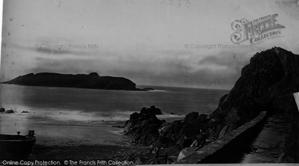 Photo of Mullion, Cove And Island c.1861
