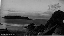Mullion, Cove And Island c.1861