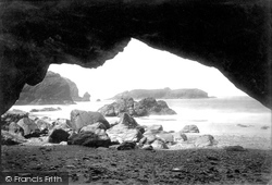 Mullion, Cove From The Caves 1890