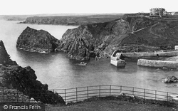 Mullion, Cove From The Hotel 1899