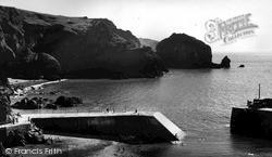 Mullion, Cove, The Harbour c.1955
