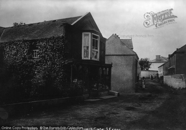 Photo of Mullion, From Church Gate 1904