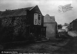 Mullion, From Church Gate 1904