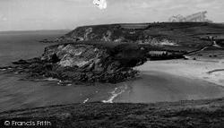 Mullion, Gunwalloe Beach And Church c.1955