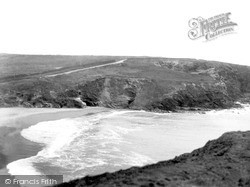 Mullion, Gunwalloe Church Cove c.1955