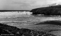 Mullion, Poldhu Cove c.1955