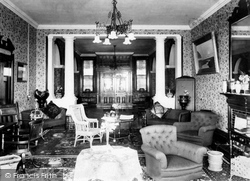 Mullion, Poldhu Hotel Interior 1899