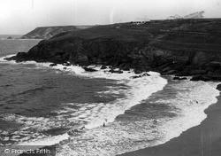 Mullion, Poldu Beach c.1955