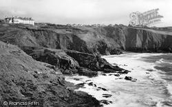 Mullion, Polurrian Coastline c.1955