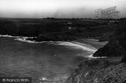 Mullion, Polurrian Cove And Cliffs c.1955