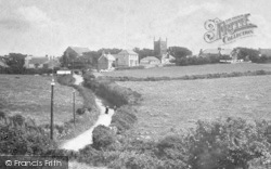 Mullion, St Mellanus' Church 1904