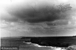 Mullion, The Coast At Polurrian c.1955