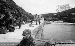 Mullion, The Lifeboat House 1899