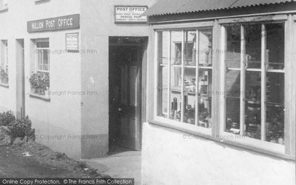 Photo of Mullion, The Post Office 1904