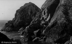 Mullion, The Rocks c.1960