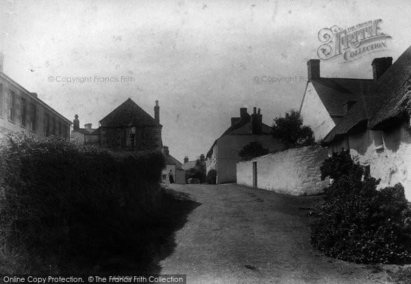 Photo of Mullion, The Village 1904