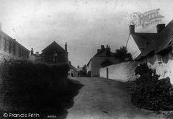 Mullion, The Village 1904