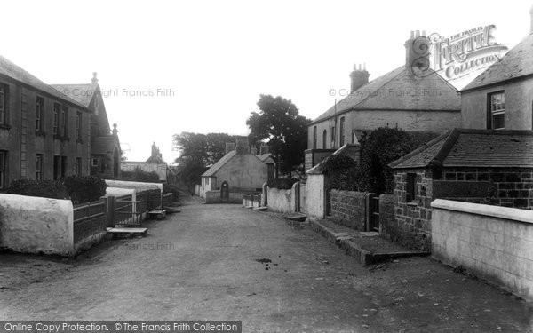 Photo of Mullion, The Village And Vicarage 1904