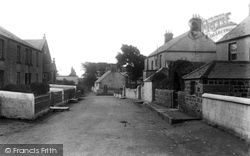 Mullion, The Village And Vicarage 1904