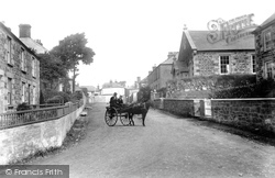 Mullion, The Village From Vicarage 1904