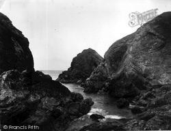 Mullion, View From Rock Ledge c.1955
