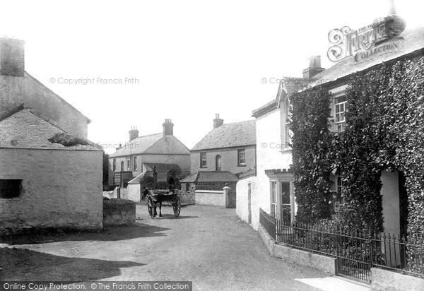 Photo of Mullion, Village 1904