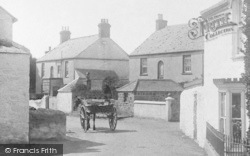 Mullion, Village, Horse Cart 1904