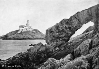 Mumbles, the Lighthouse and Natural Arch 1893