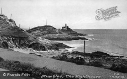 Mumbles, The Lighthouse c.1955, Mumbles, The