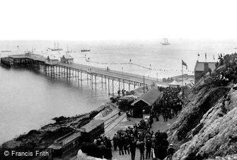 Mumbles, the Pier 1898