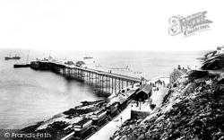 Mumbles, The Pier 1899