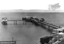 Mumbles, The Pier 1938