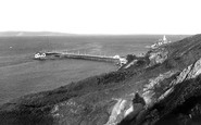 Mumbles, the Pier and Lighthouse c1955