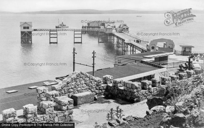 Photo of Mumbles, The Pier c.1955