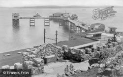 Mumbles, The Pier c.1955