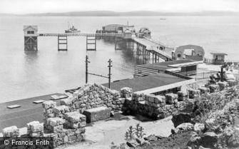 Mumbles, the Pier c1955