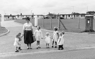 Mundesley, R.A.F. Quarters c1960