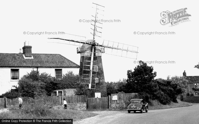 Mundesley,the Old Mill c1960,Norfolk