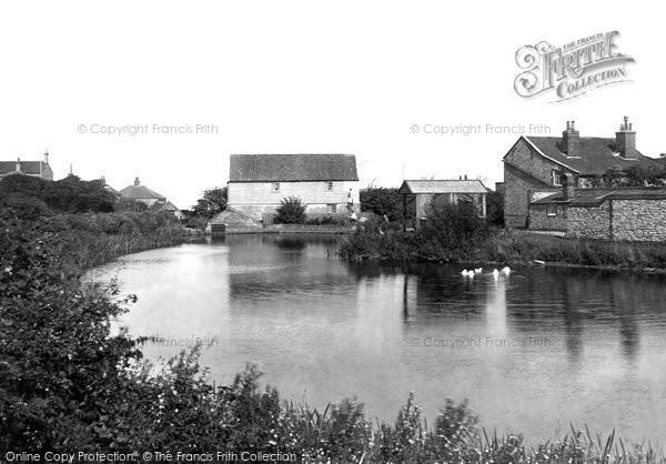 Mundesley,the Mill Pond 1921,Norfolk